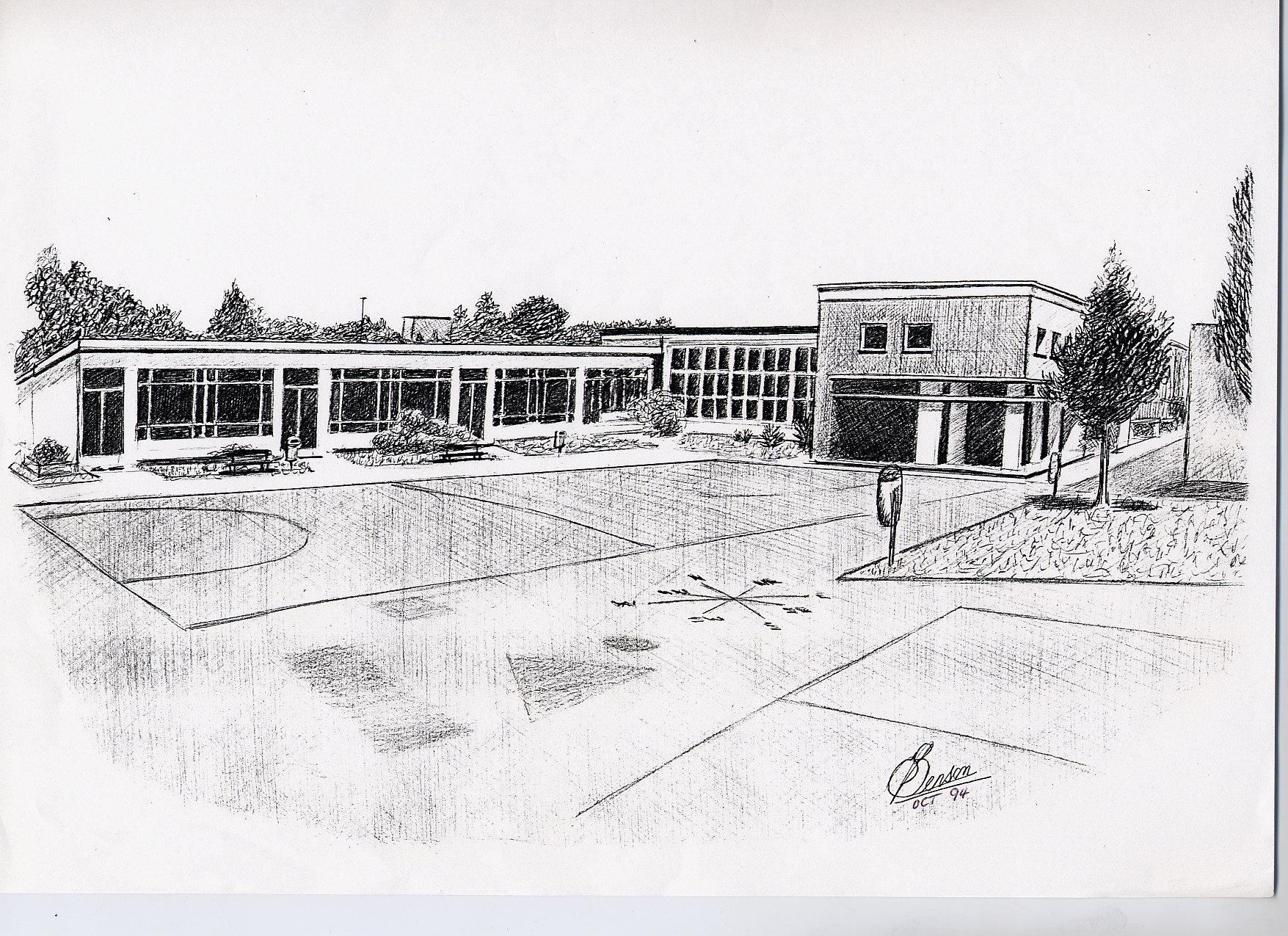 School Drawing Krefeld First School Krefeld