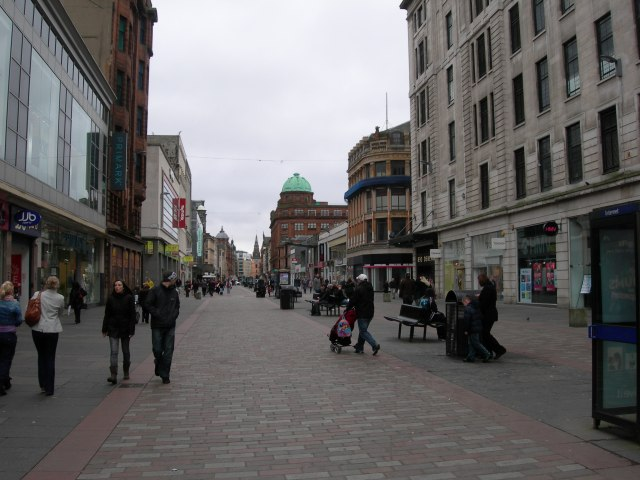 Argyle Street - facing east