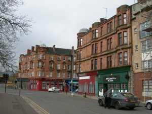 Greendyke Street tenements - bordering Glasgow Green