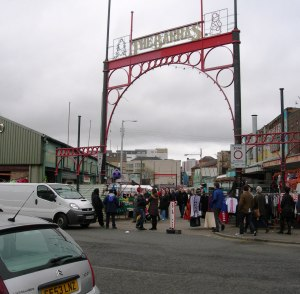 'The Barras' market - London Road, which never seems to change.