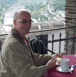 Gaining inspiration in a castle, high above the Mosel River - Cochem, Germany
