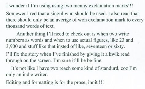 Blog on editing - image